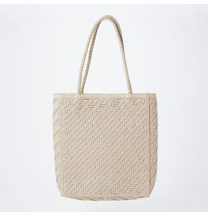Le Tote Bag in Cream