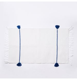 Bakkali Cord Bathmat in Blue