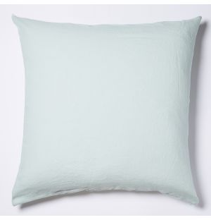 Linen Cushion Cover in Mint 65cm x 65cm