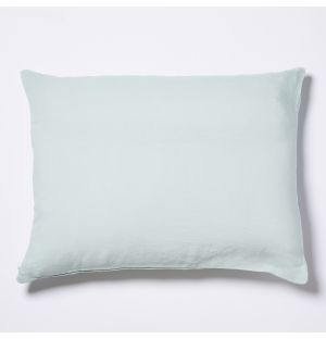 Linen Cushion Cover in Mint 50cm x 40cm