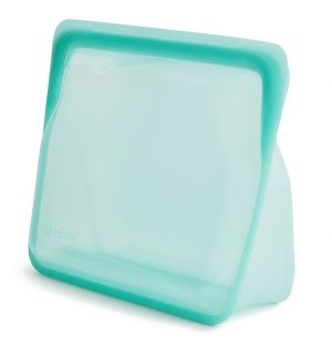 Stand Up Stasher in Aqua