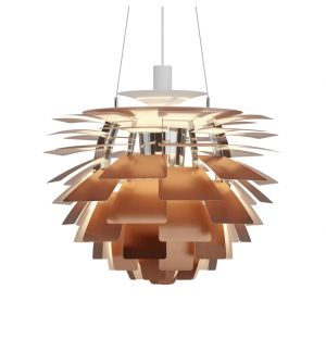 PH Artichoke Pendant Light Copper 60cm