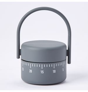 Kitchen Timer in Cool Grey