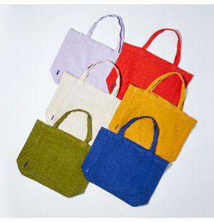 Oversized Linen Tote Bag