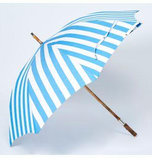 Chestnut Parasol in Blue Stripe