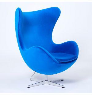 Exclusive Egg Chair in Velvet
