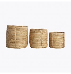 Chaka Bamboo Basket Set