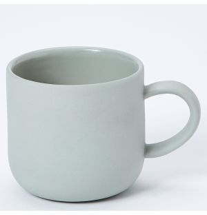 Mr & Mrs Mug in Grey