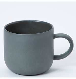 Mr & Mrs Mug in Black