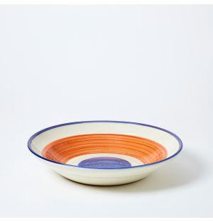 Modern Mediterranean Serving Bowl