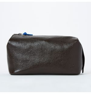 Large Cosmetics Bag in Brown
