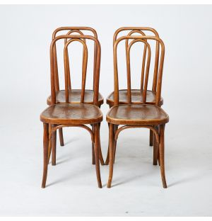 Vintage Thonet Chairs Set of 4