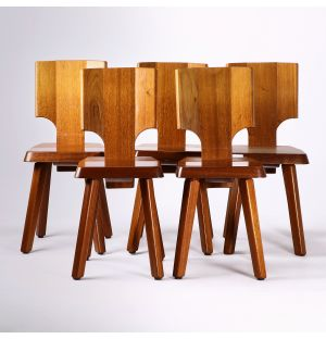 Vintage S28 Chair in Mahogany