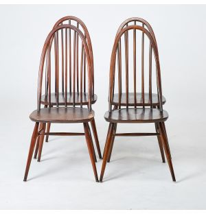 Vintage Windsor Quaker Dining Chairs Set of 4