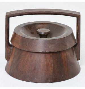 Vintage Jens Quistgaard Ice Bucket in Rosewood