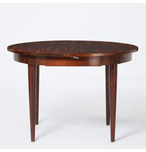 Vintage Dining Table with Extension in Rosewood