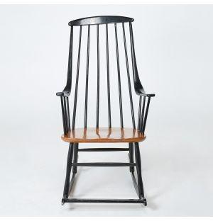 Vintage Lena Larsson Rocking Chair
