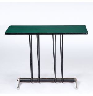 Vintage Bistro Table in Green