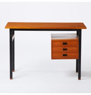 Vintage Desk with Drawers
