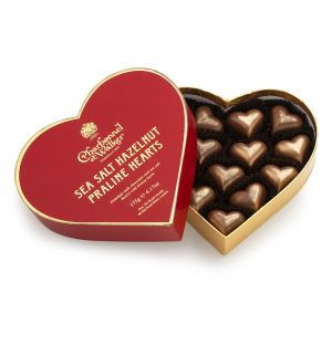 Sea Salt Hazelnut Praline Hearts