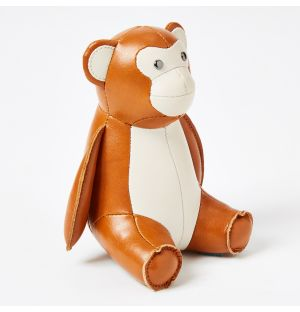 Monkey Paperweight in Tan