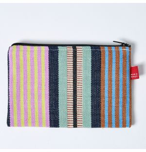 Mira Maya Striped Purse