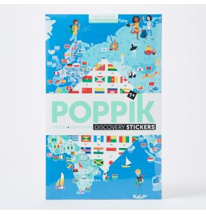 Flags of The World Sticker Poster