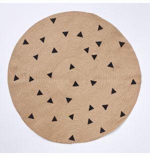 Triangle Jute Rug