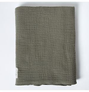 Cotton Muslin Blanket in Army