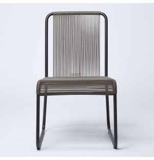 HARP 749 Side Chair in Smoke & Blue Ex-Display