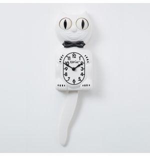 Classic Kit-Cat Klock in White