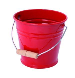 Children's Sand Bucket in Red