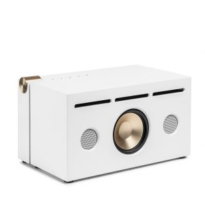 PR/01 Alu Speaker in Pure White