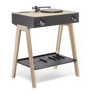 LX Record Player in Oak