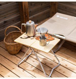 Folding Table in Bamboo