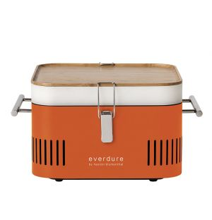 CUBE Portable Barbeque in Orange