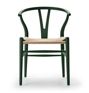 Special Edition CH24 Wishbone Chair in Soft Green