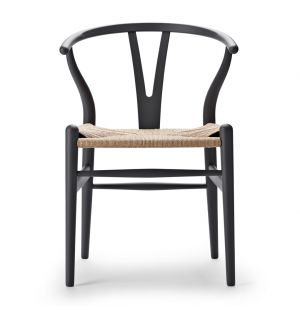 Special Edition CH24 Wishbone Chair in Soft Grey