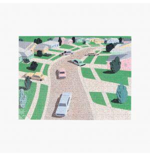 Pastel Suburbia Puzzle