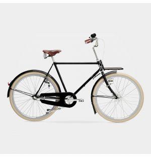 Kopenhagen 7-Gear Men's Bike in Jet Black