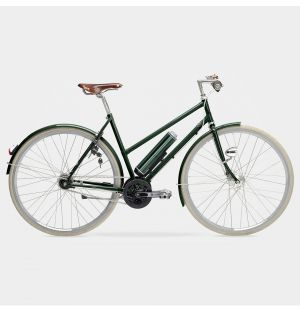 Arrow Electric Ladies Bike in Fir Green