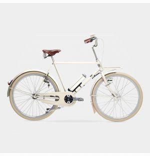 Kopenhagen Electric Men's Bike in Ivory