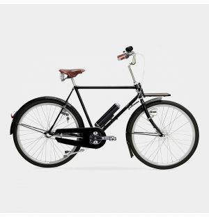 Kopenhagen Electric Men's Bike in Jet Black