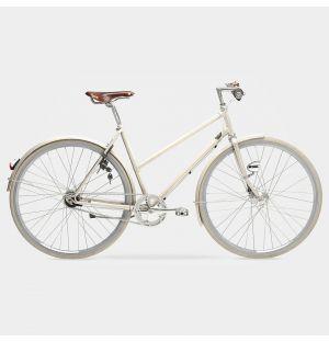 Arrow 7-Gear Ladies Bike in Light Ivory