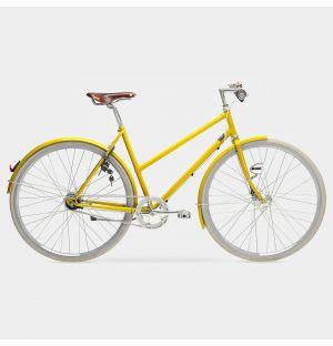 Arrow 7-Gear Ladies Bike in Traffic Yellow