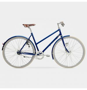 Arrow 7-Gear Ladies Bike in Ultramarine Blue