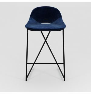 Cross Leg Counter Stool