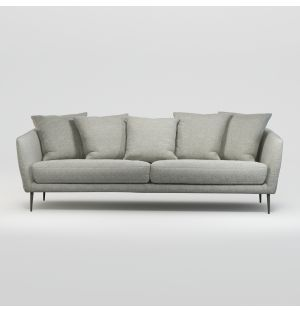 Menton 3-Seater Fixed Cover Sofa