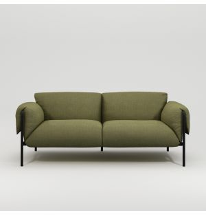 Fold 2-Seater Sofa with Arms