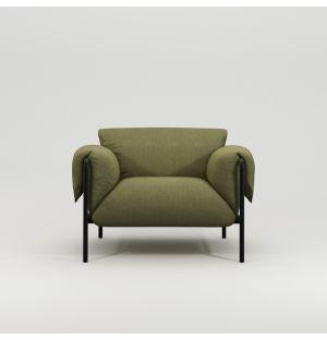Fold Armchair with Arm Cushions